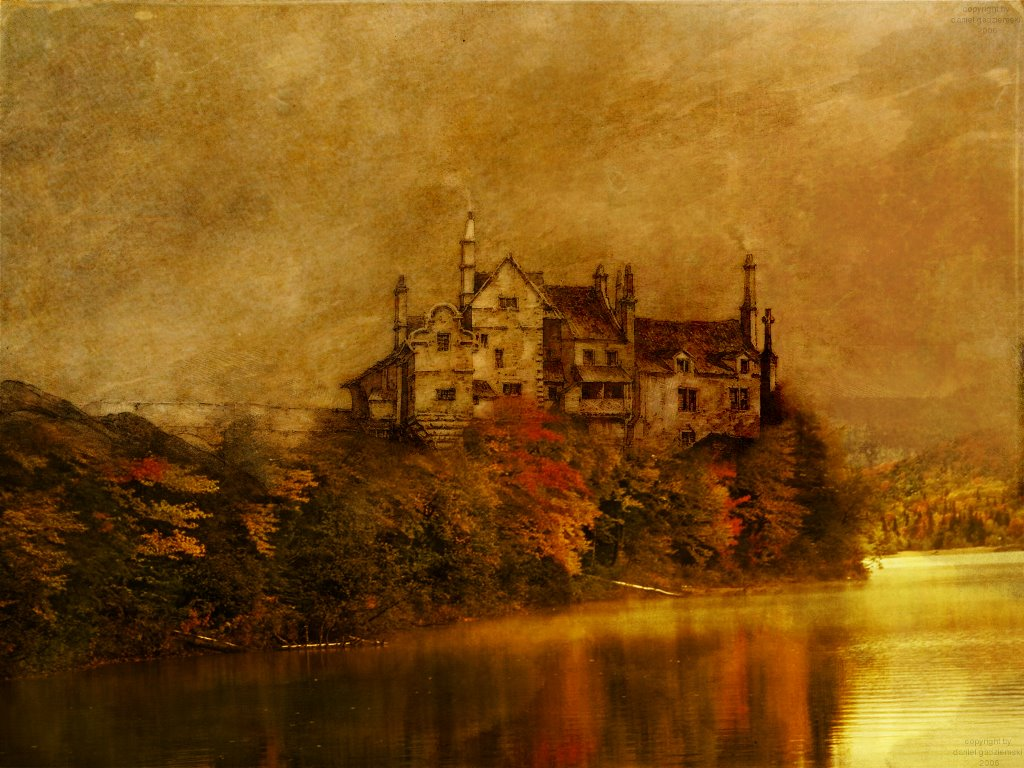 Artistic Wallpaper: Chateau