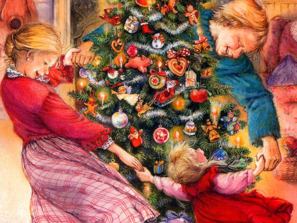 Artistic Wallpaper: Christmas - Magic in the Air
