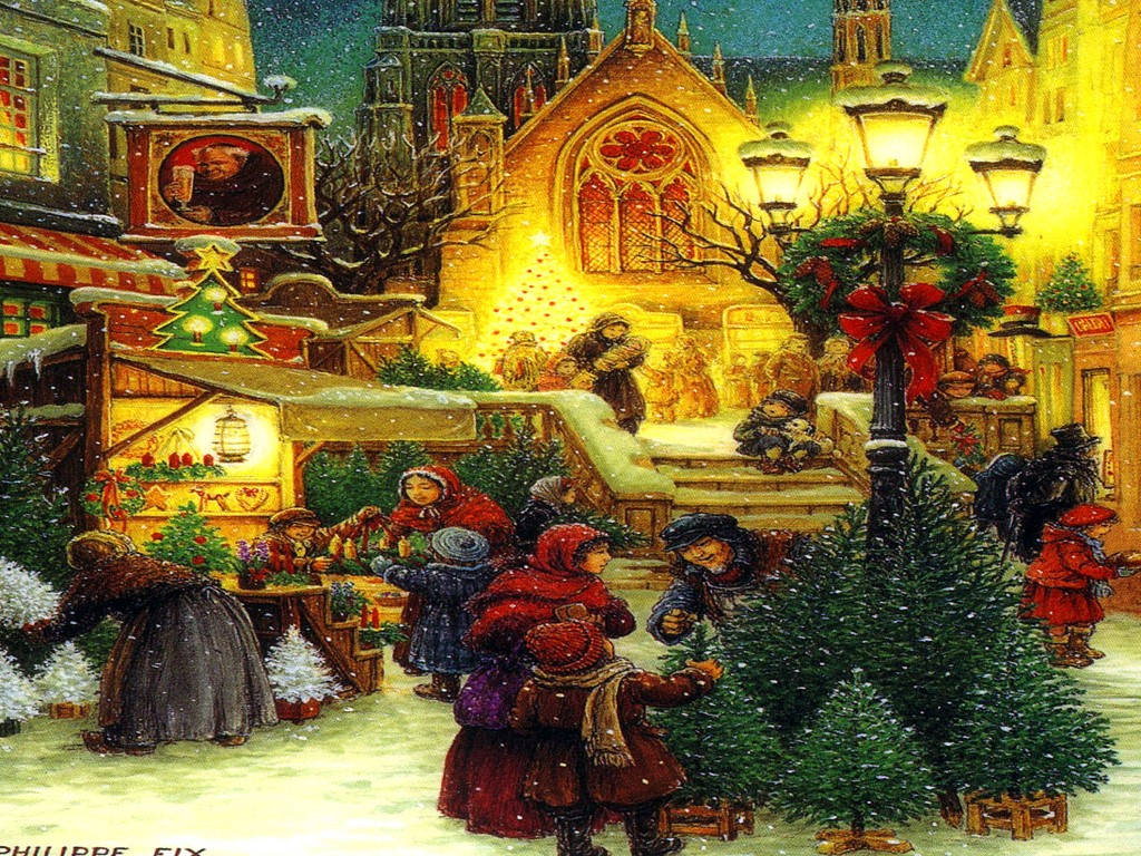 Artistic Wallpaper: Christmas