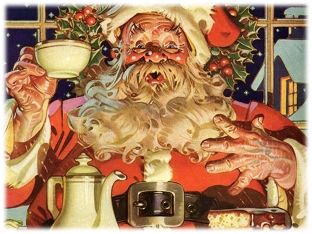 Artistic Wallpaper: Christmas - Santa Claus