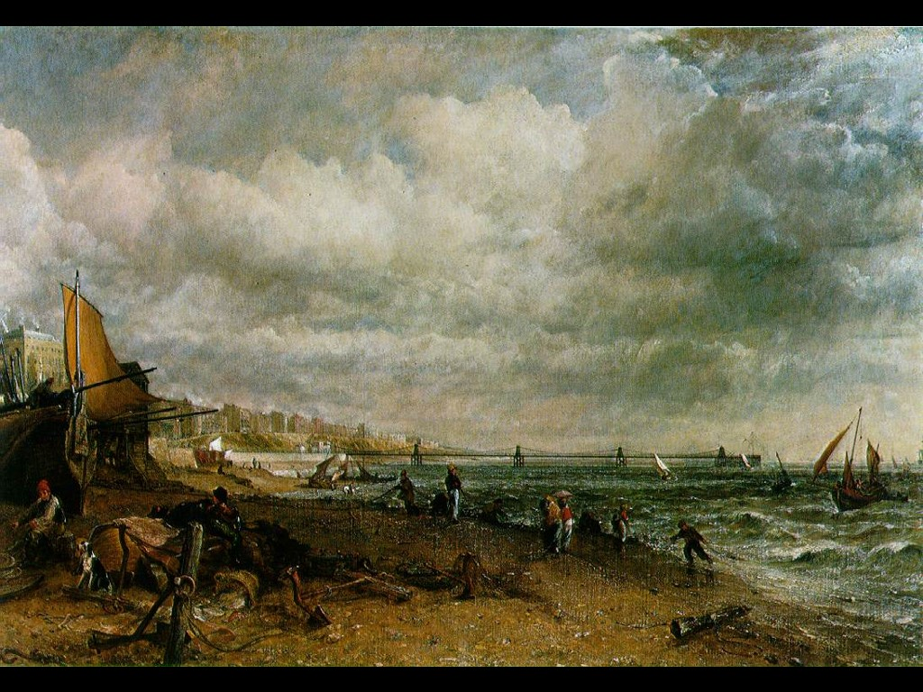 Artistic Wallpaper: Constable - Brighton
