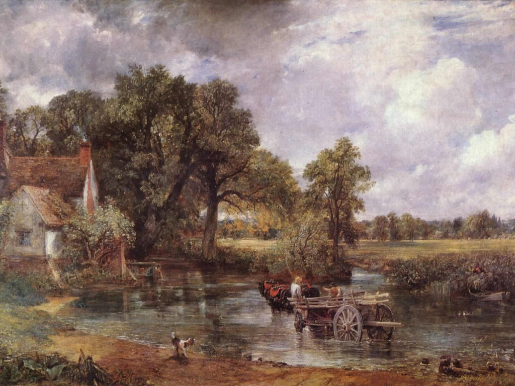 Artistic Wallpaper: Constable - The Hay Wain