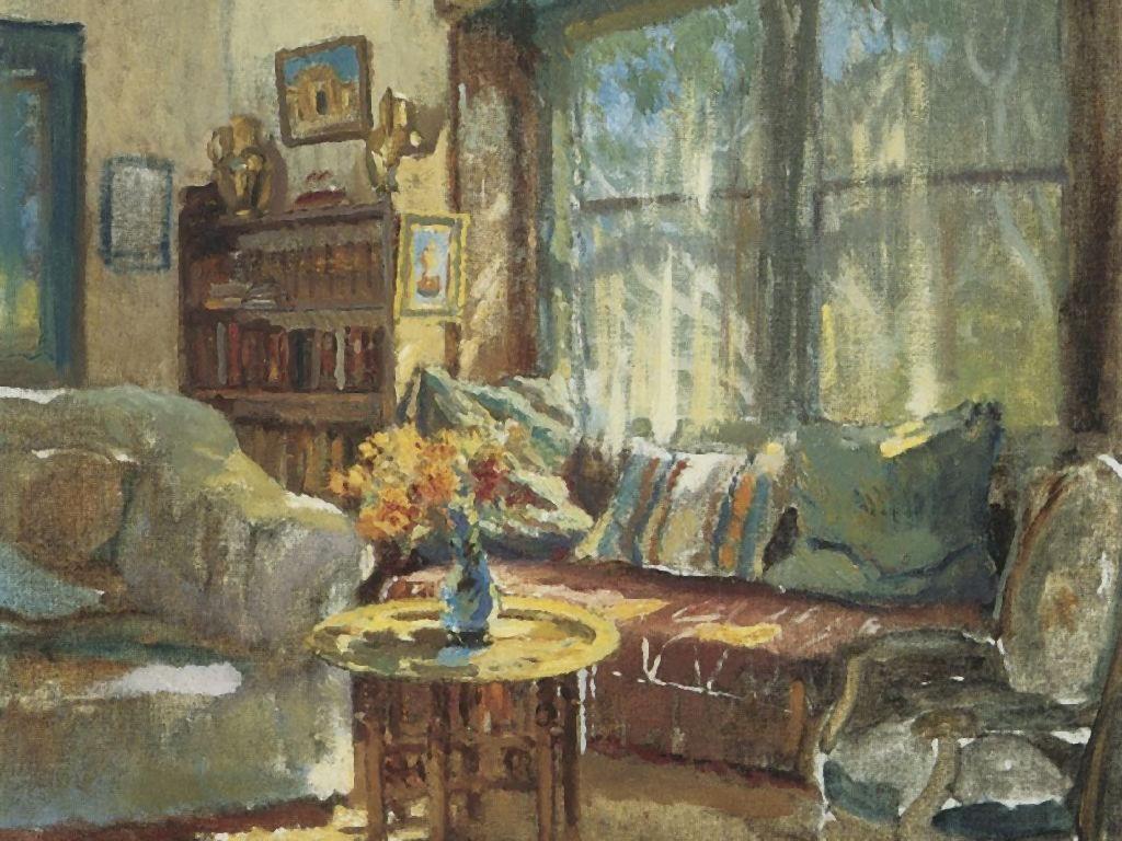 Artistic Wallpaper: Cooper - Cottage Interior