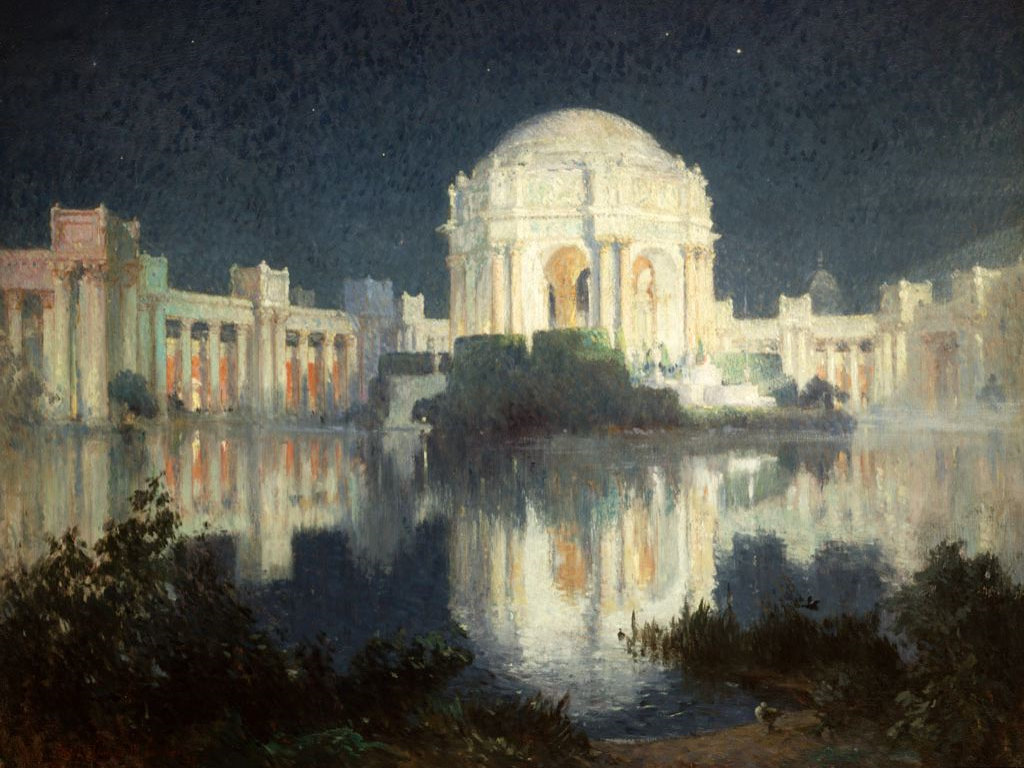 Artistic Wallpaper: Cooper - Palace of Fine Arts, San Francisco
