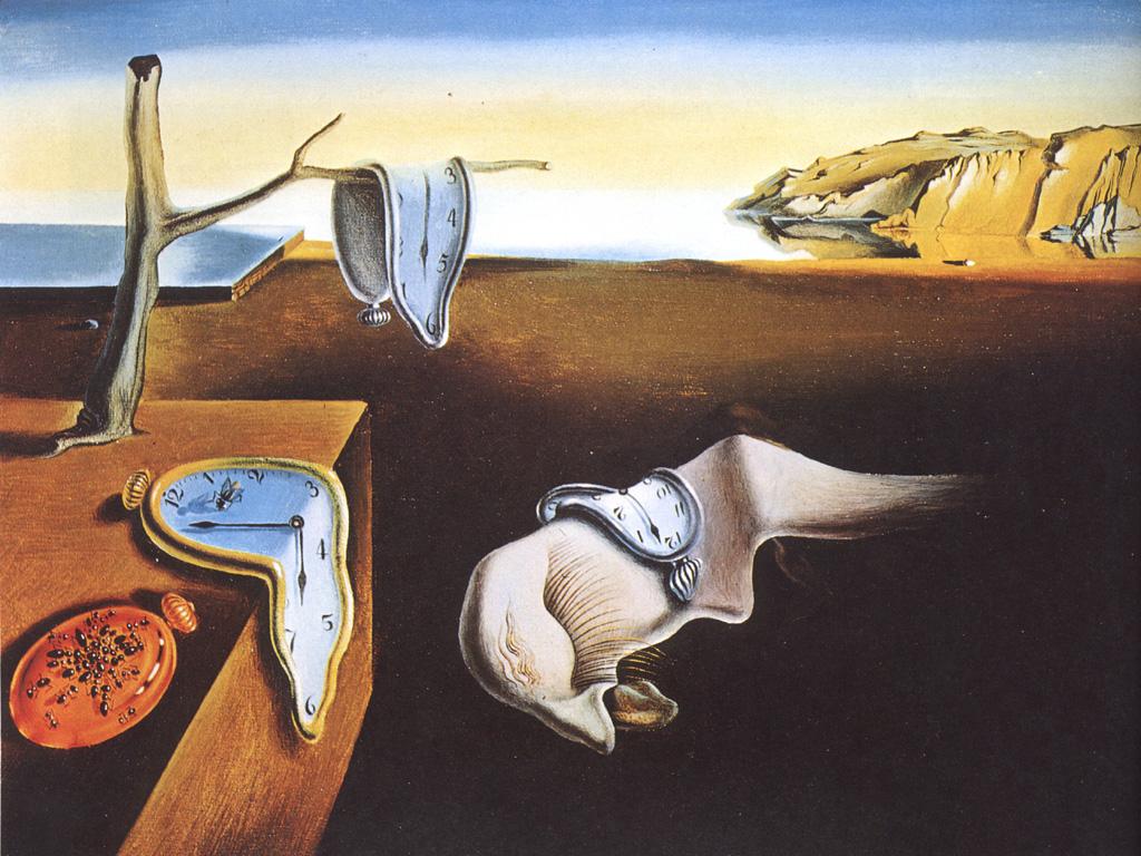 Artistic Wallpaper: Dali - Persistance of Memory