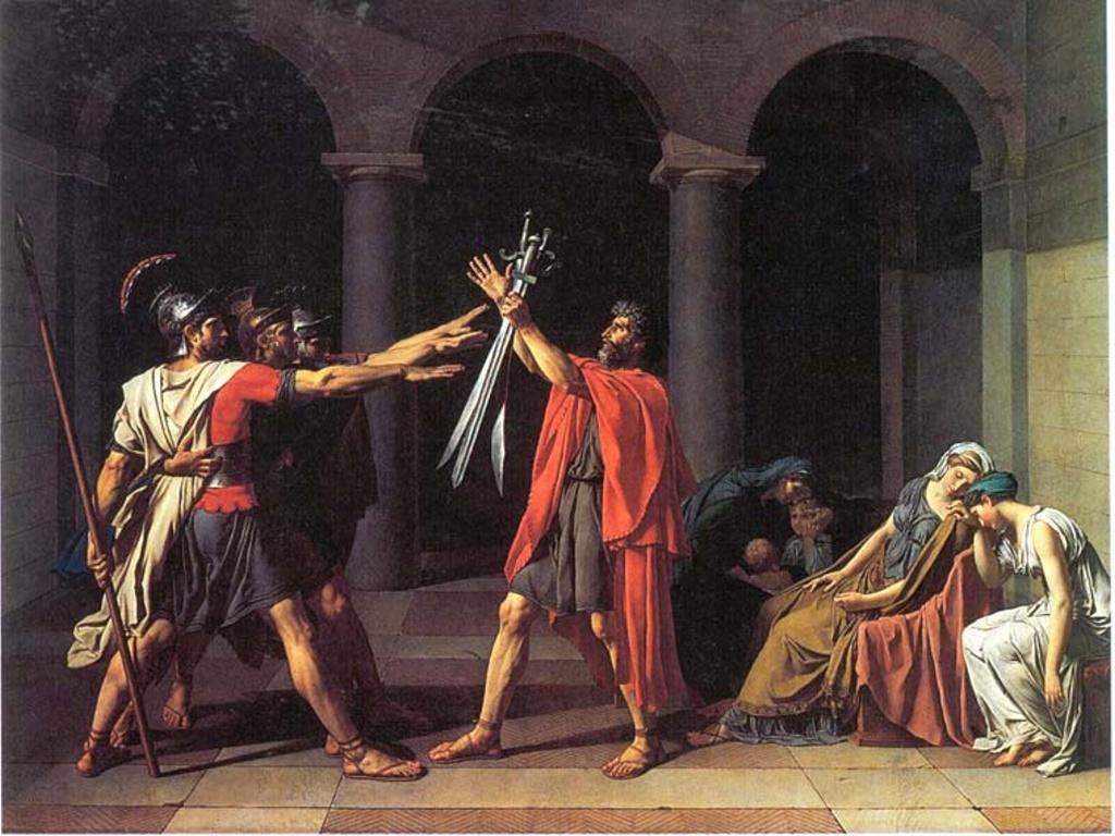 Artistic Wallpaper: David - Horatii