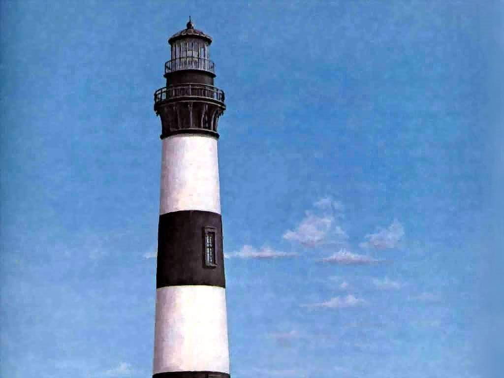 Artistic Wallpaper: Donald McAdoo - Bodie Island Light