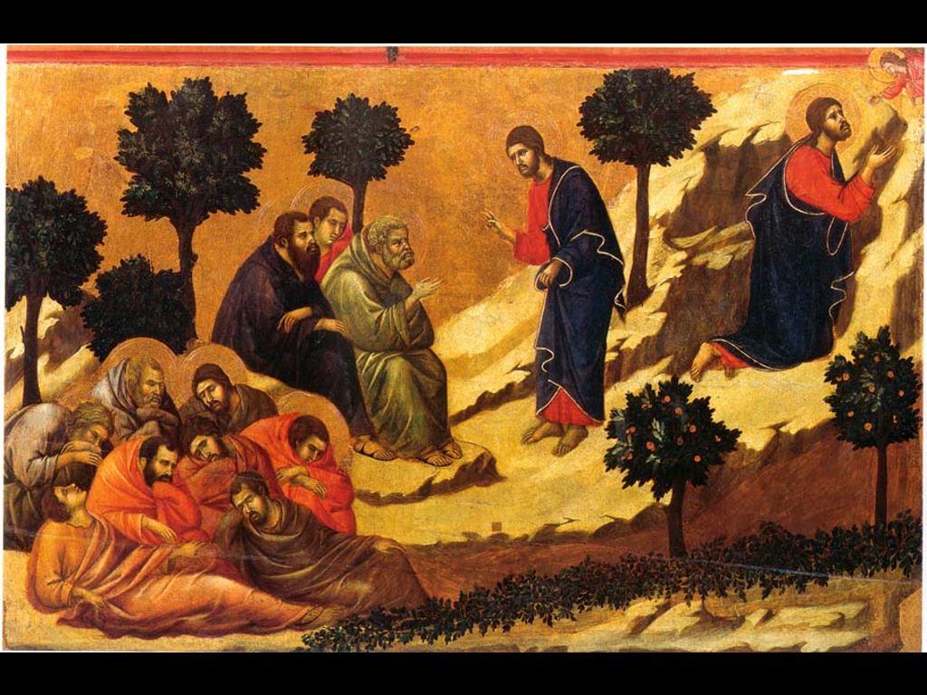 Artistic Wallpaper: Duccio Maesta - Back Temptation
