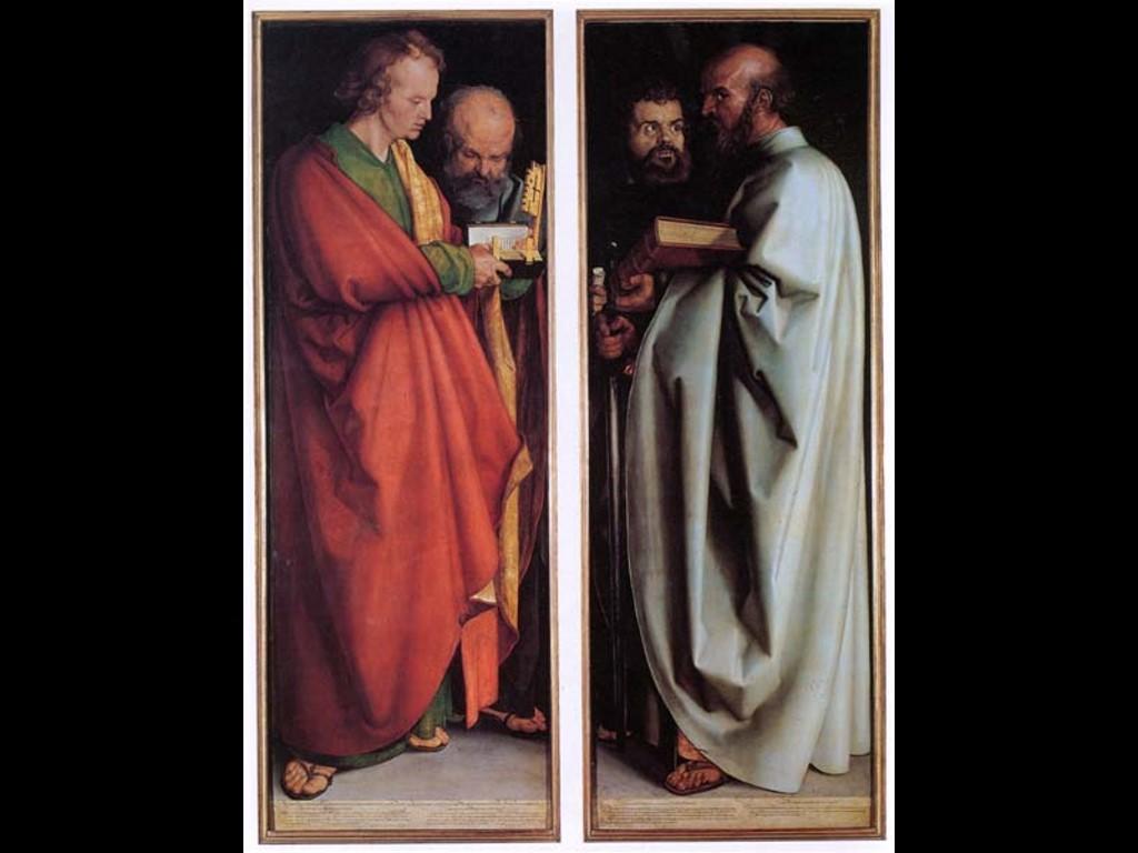 Artistic Wallpaper: Durer - Apostles