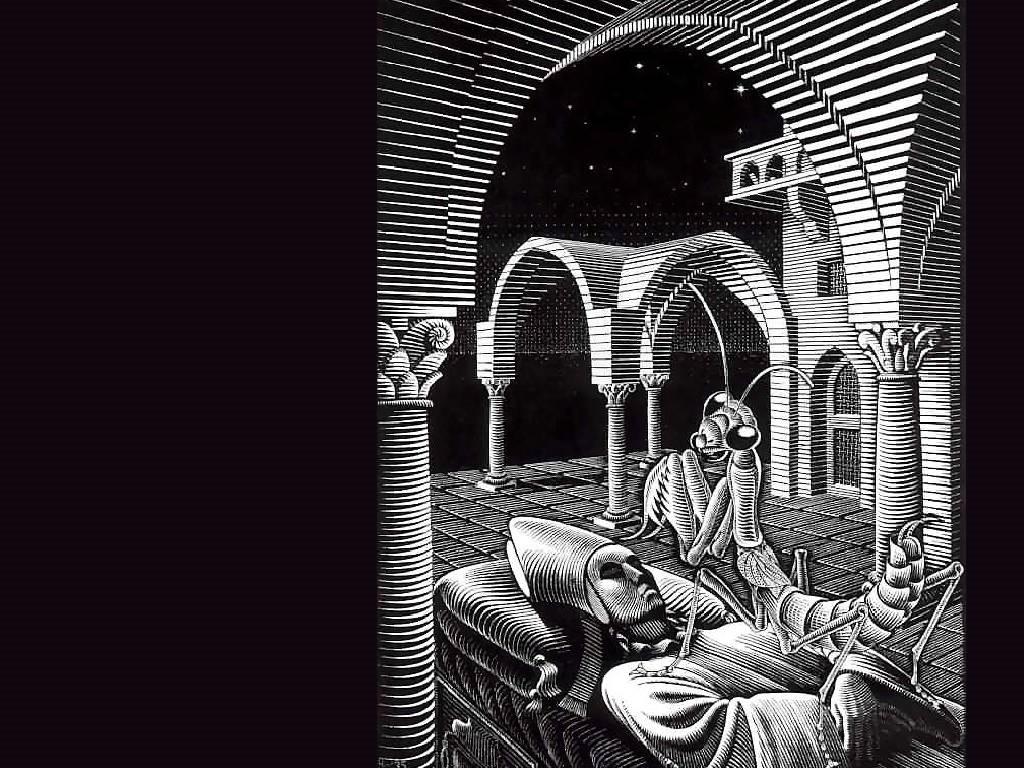 Artistic Wallpaper: Escher - Dream