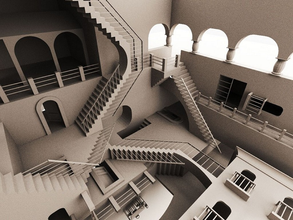 Artistic Wallpaper: Escher