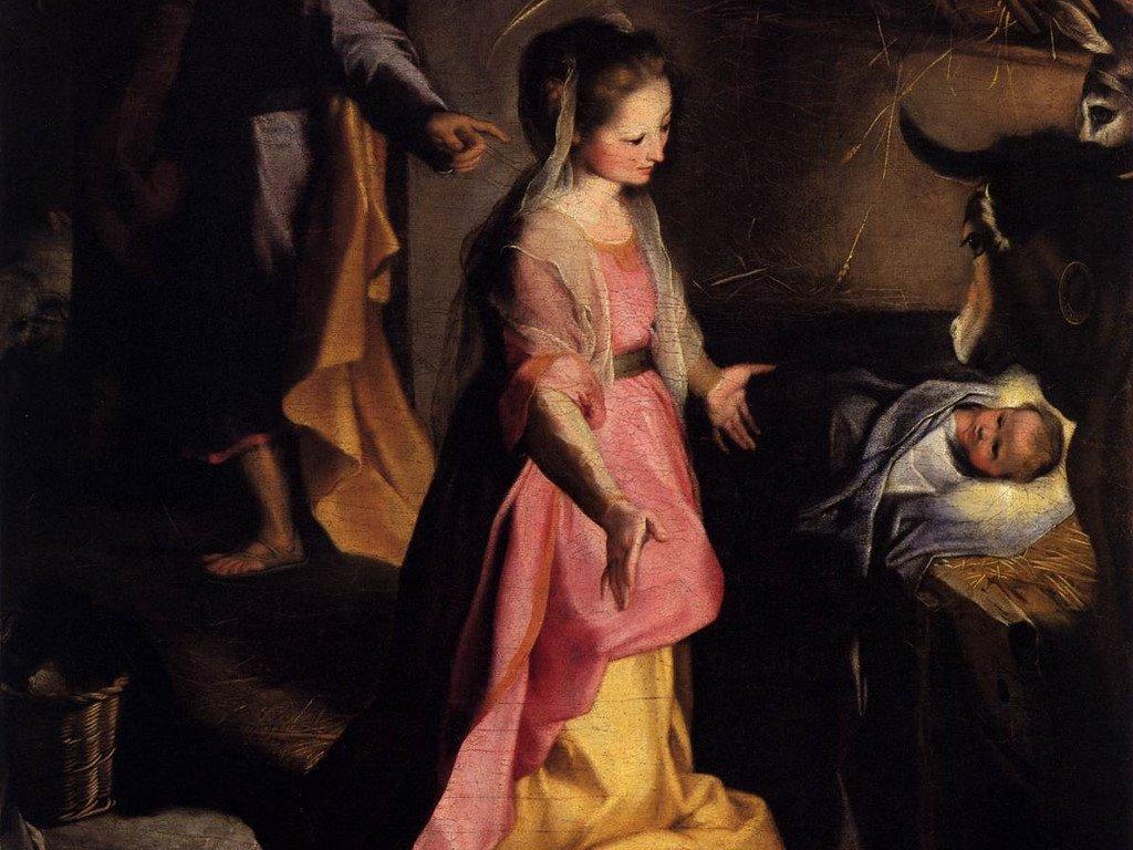 Artistic Wallpaper: Federico Fiori - The Nativity