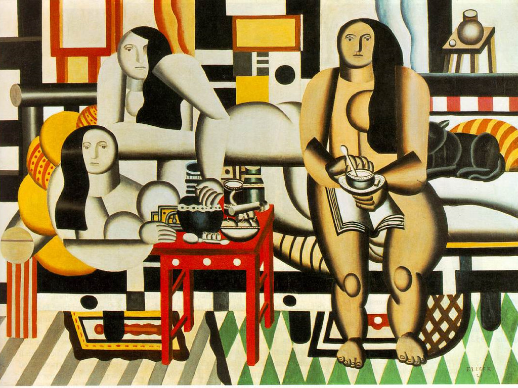 Artistic Wallpaper: Fernand Leger - Three Women