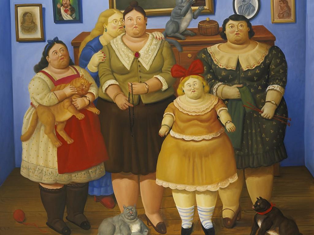 Artistic Wallpaper: Fernando Botero