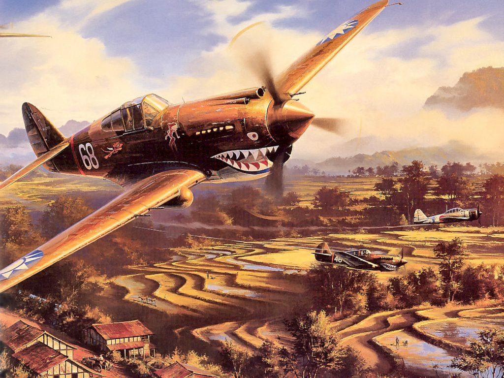 Artistic Wallpaper: Flying Aces