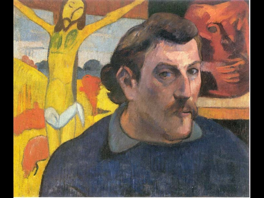 Artistic Wallpaper: Gauguin - Self-Portrait