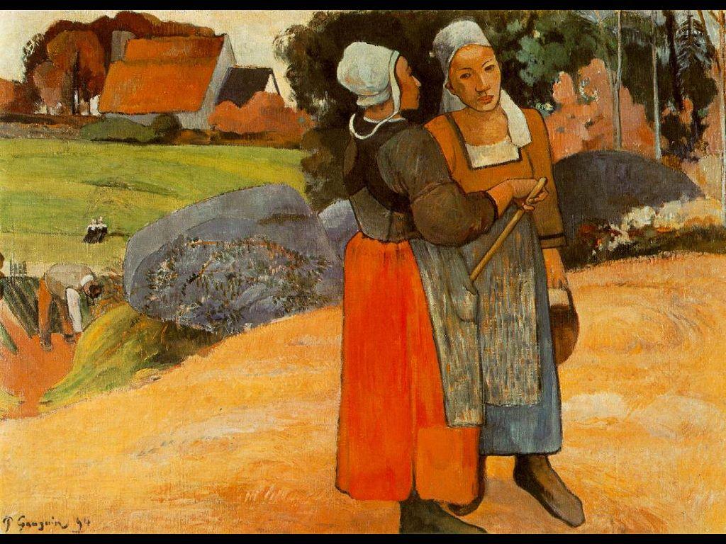 Artistic Wallpaper: Gauguin
