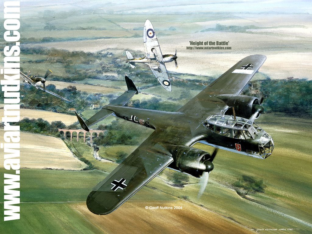 Artistic Wallpaper: Geoff Nutkins - Aviation Art