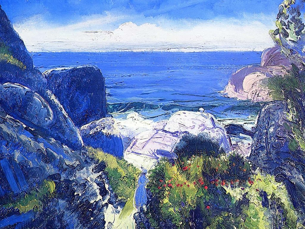 Artistic Wallpaper: George Bellows - Paradise Point