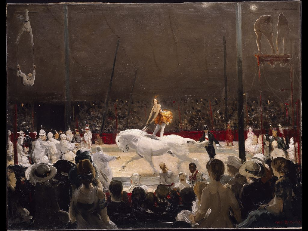 Artistic Wallpaper: George Bellows - The Circus