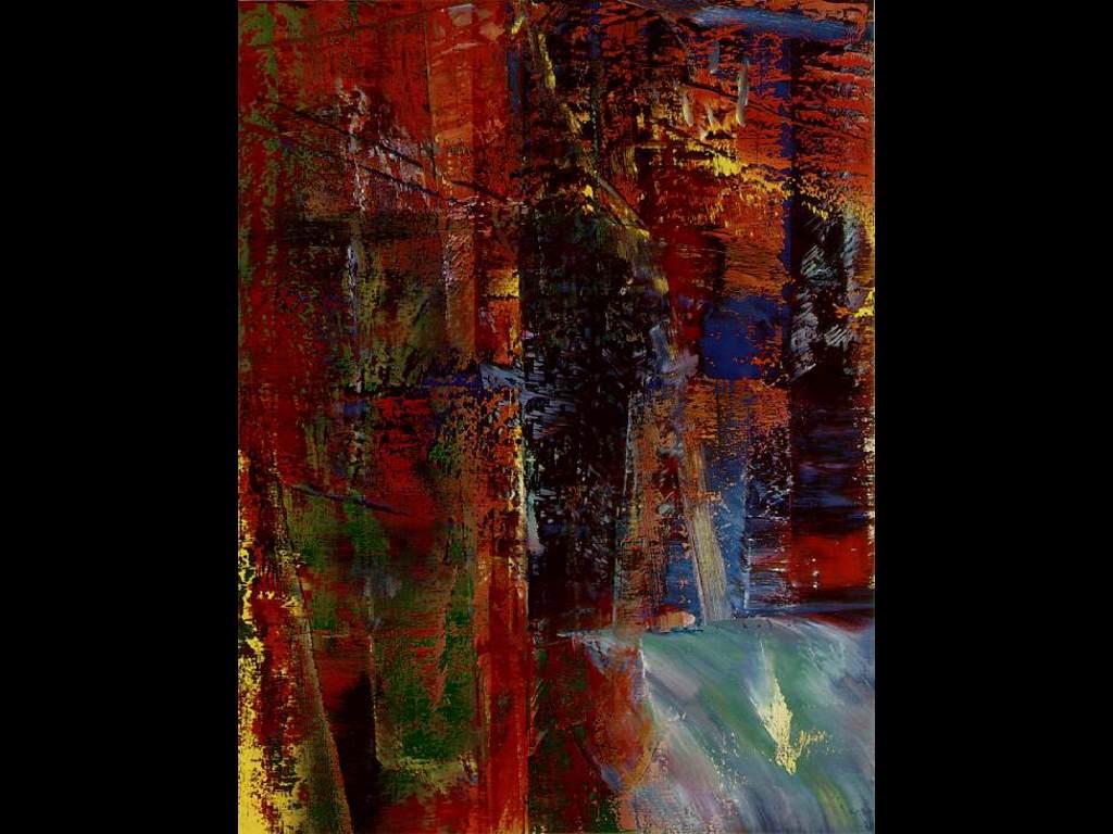 Artistic Wallpaper: Gerhard Richter - Dark
