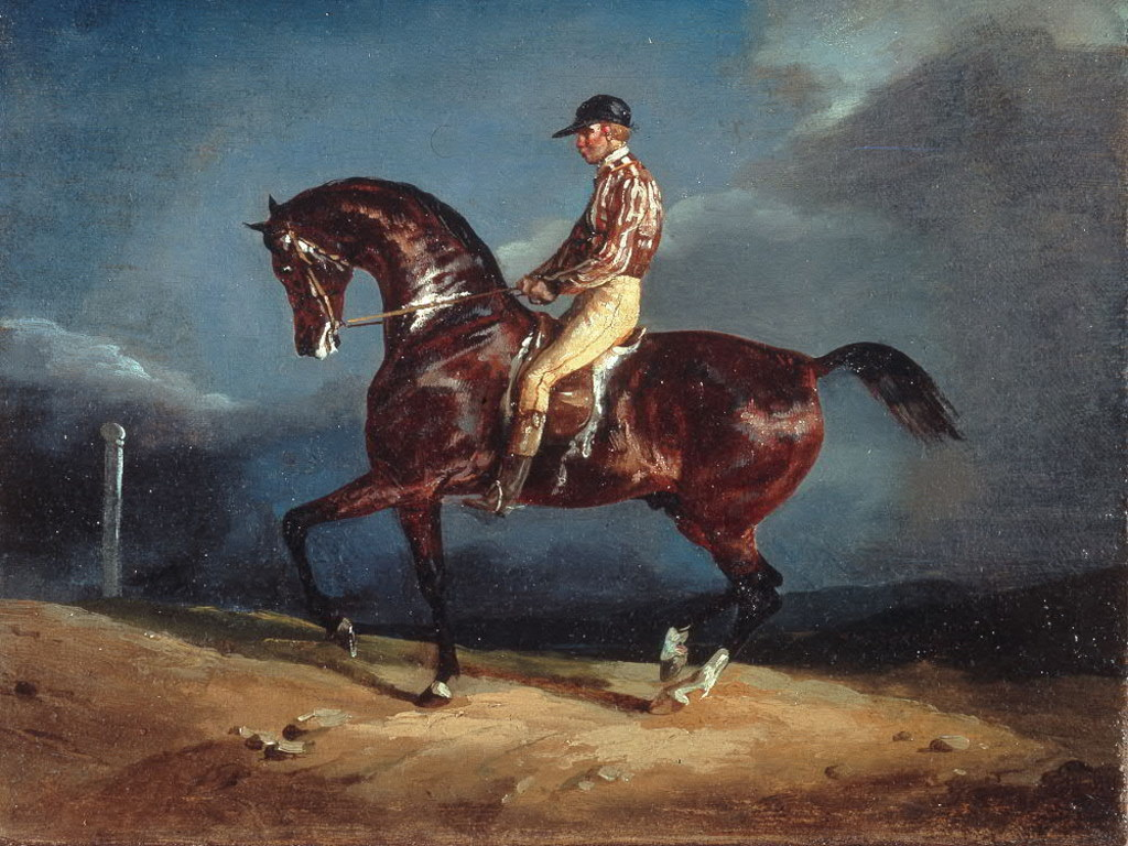 Artistic Wallpaper: Gericault - Jockey Up