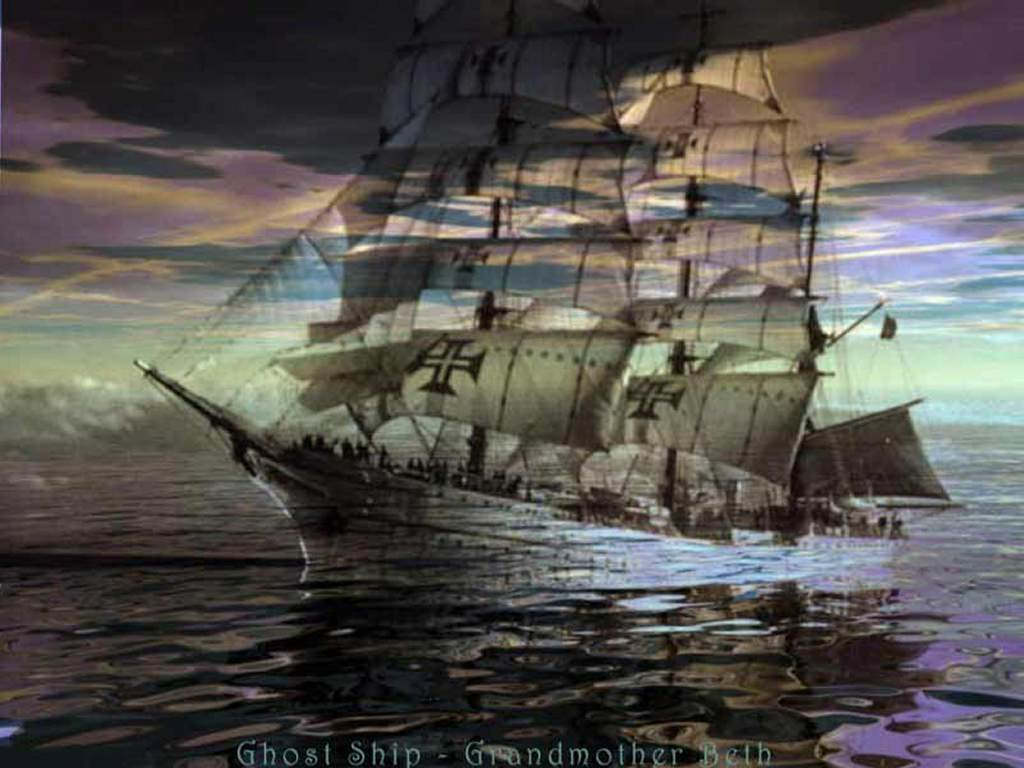 Artistic Wallpaper: Ghostship