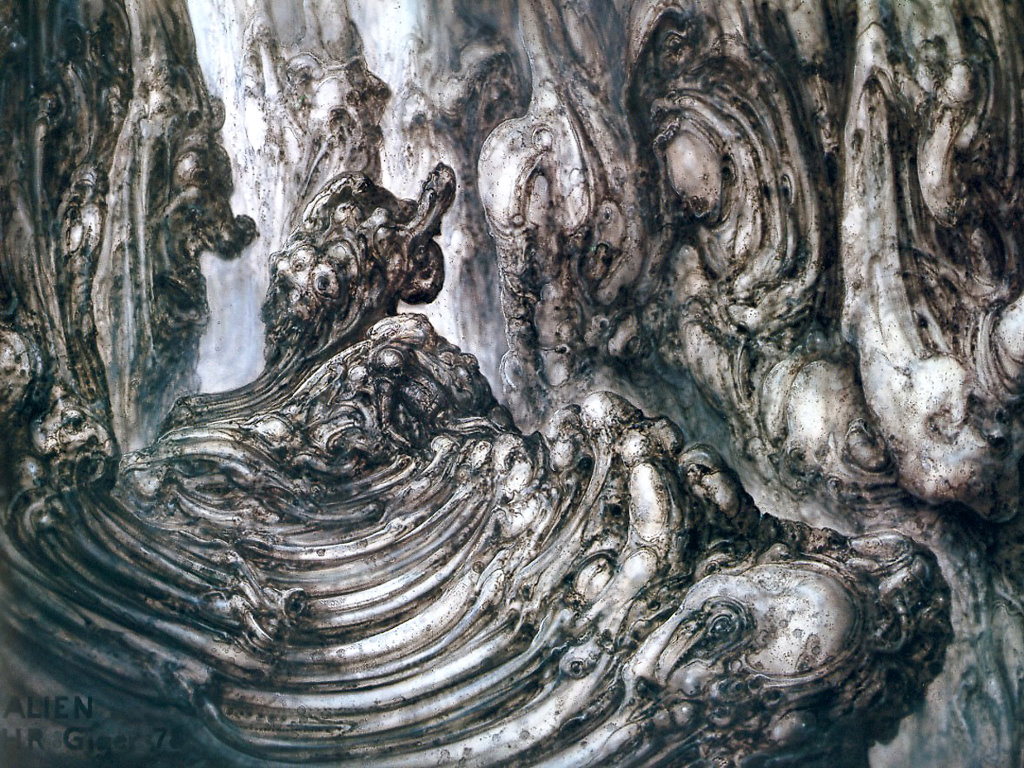 Artistic Wallpaper: Giger