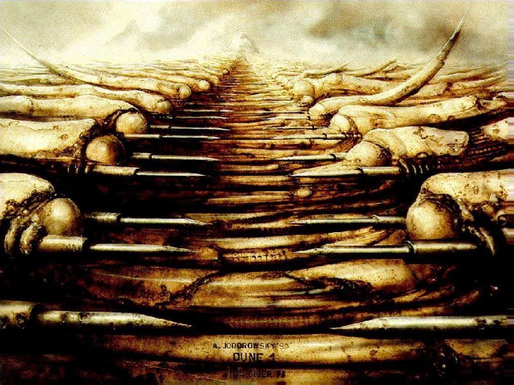 Artistic Wallpaper: Giger - Dune