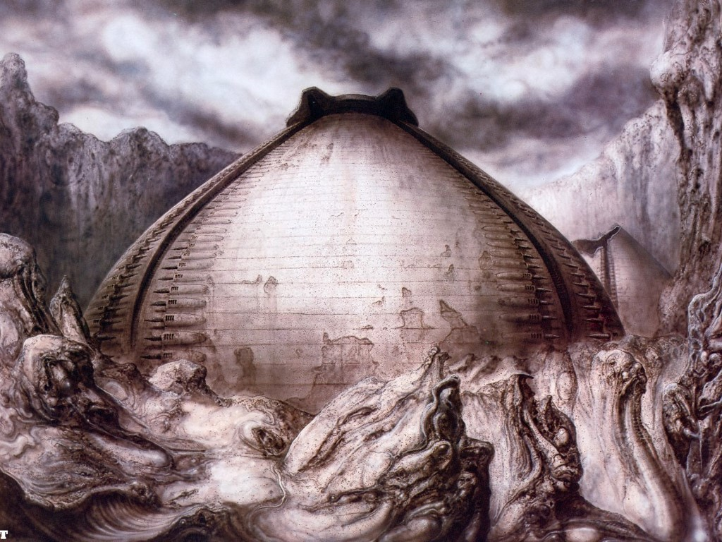 Artistic Wallpaper: Giger - Egg Silo