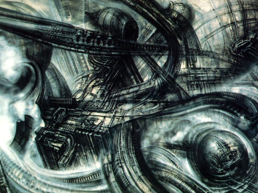 Artistic Wallpaper: Giger - Landscape
