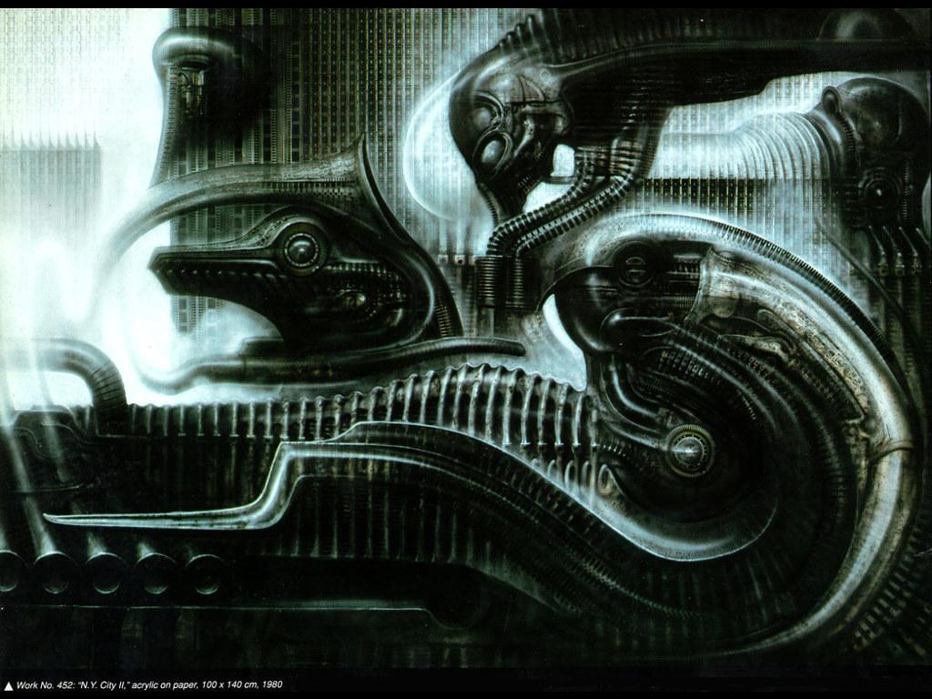 Artistic Wallpaper: Giger - NY City II