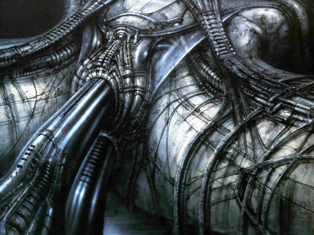 Artistic Wallpaper: Giger - Snatch