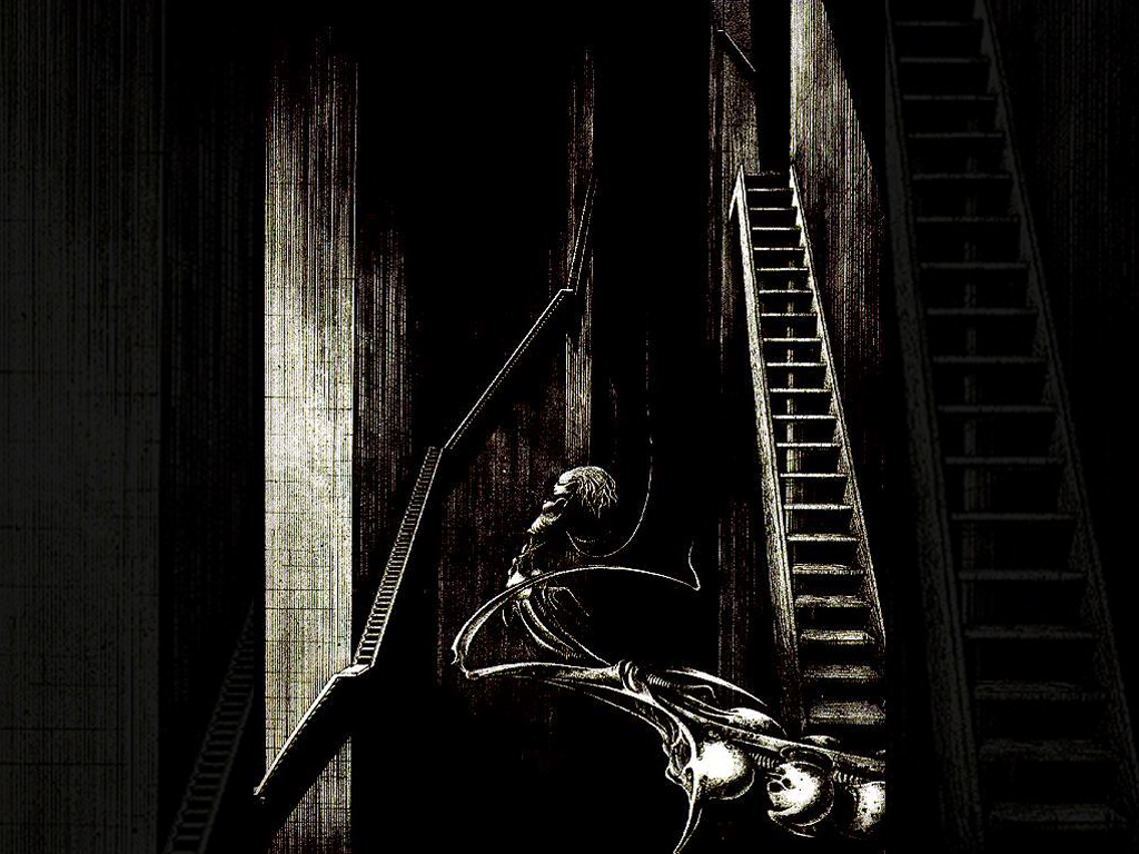 Artistic Wallpaper: Giger - Stairs