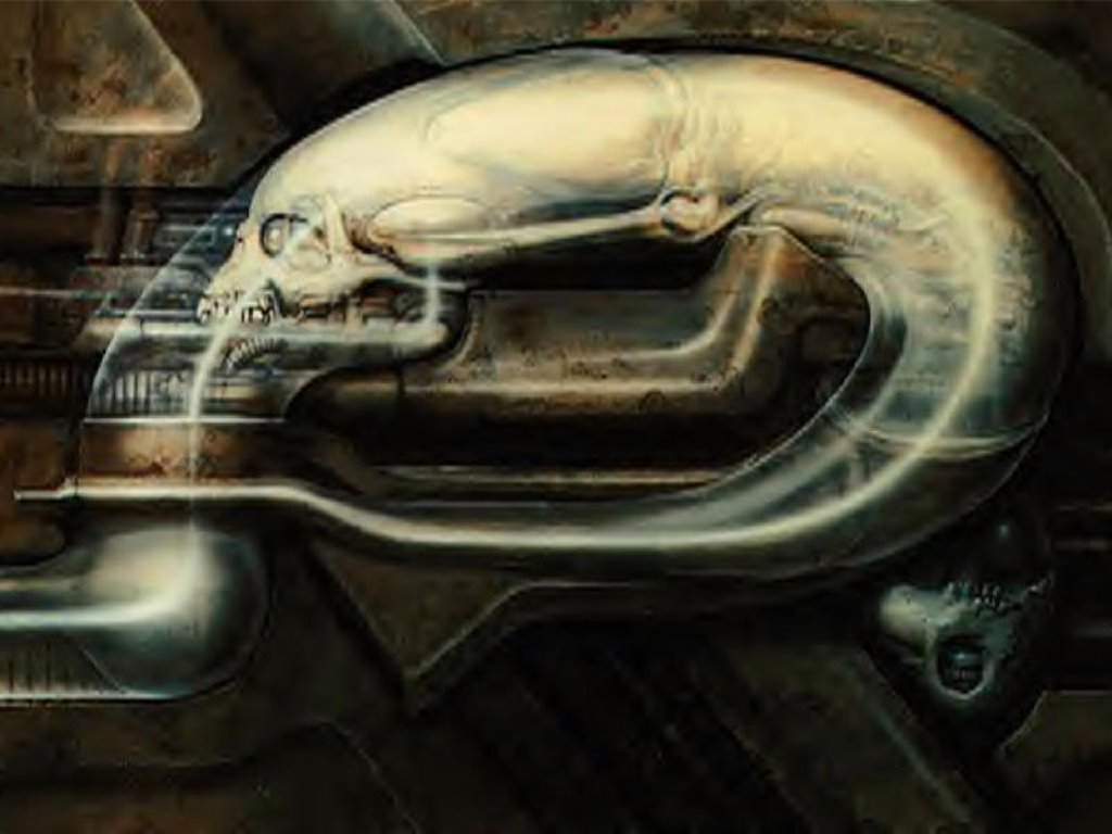 Artistic Wallpaper: Giger - Worm