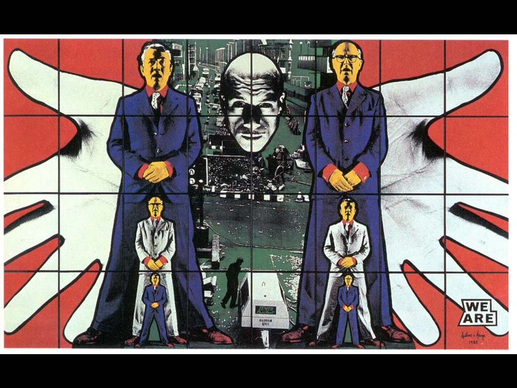 Artistic Wallpaper: Gilbert and George - We Are