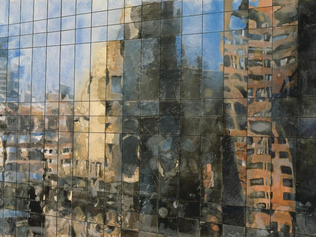 Artistic Wallpaper: Gottfried Salzmann - Reflections