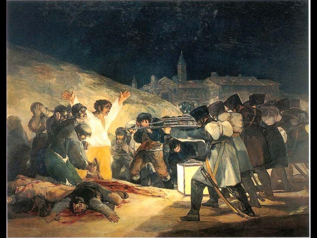 Artistic Wallpaper: Goya - 3rd of May