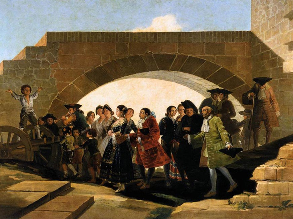 Artistic Wallpaper: Goya - The Wedding