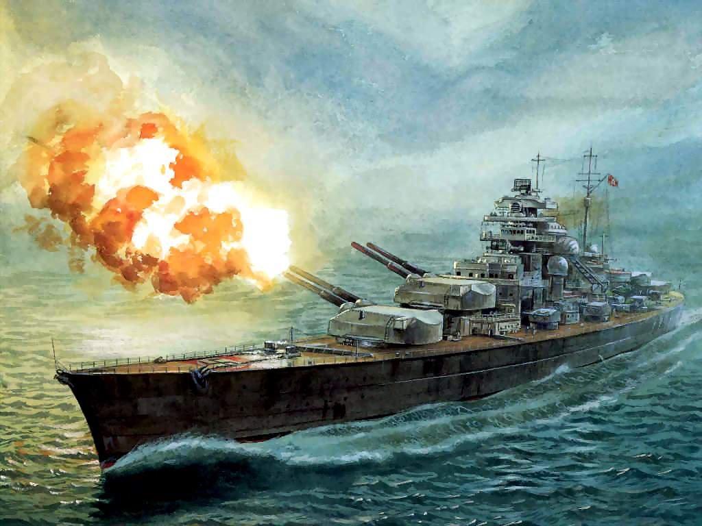 Artistic Wallpaper: The Bismarck