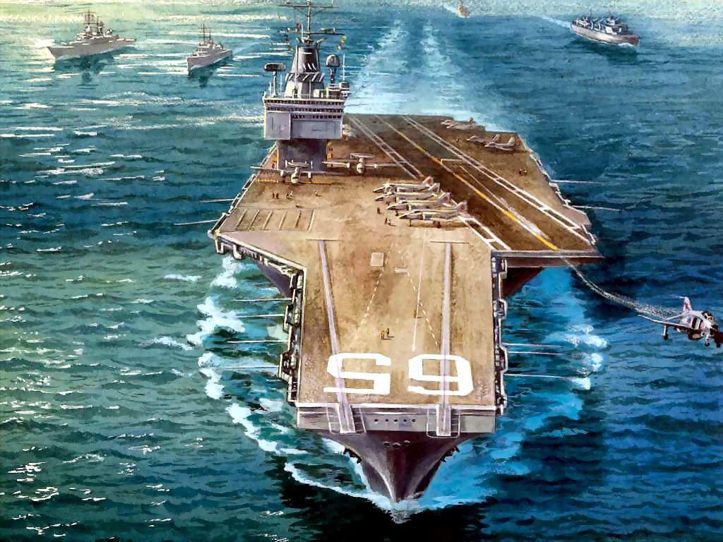 Artistic Wallpaper: Great Ships - The Enterprise