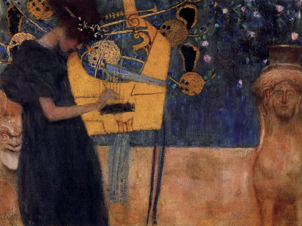 Artistic Wallpaper: Gustave Klimt