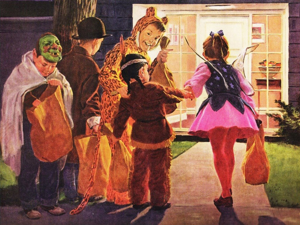 Artistic Wallpaper: Halloween - Kids