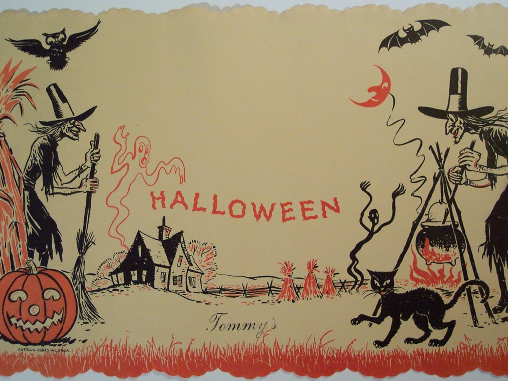 Artistic Wallpaper: Halloween - Vintage