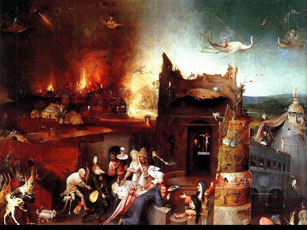 Artistic Wallpaper: Hieronymous Bosch