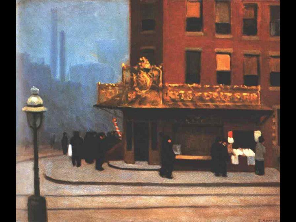 Artistic Wallpaper: Hopper