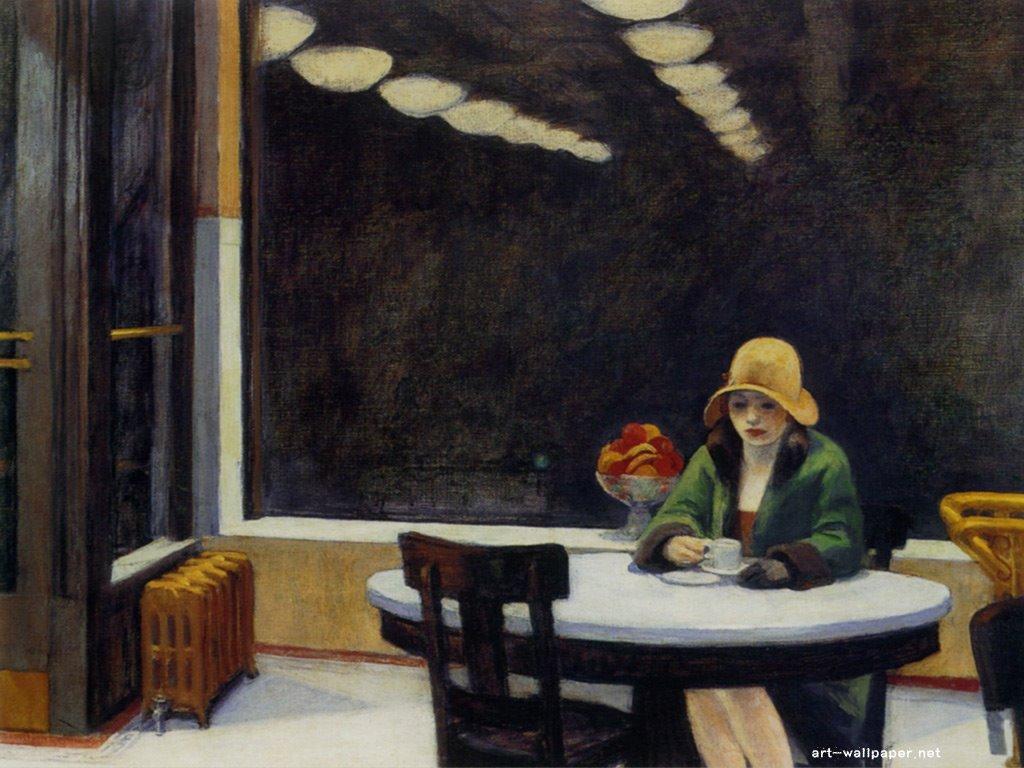 Artistic Wallpaper: Edward Hopper