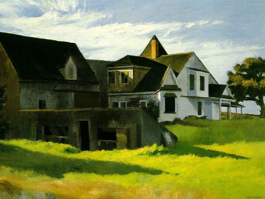Artistic Wallpaper: Hopper - Cape Cod Afternoon