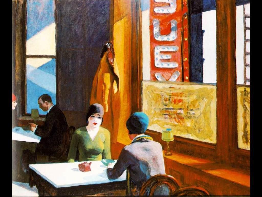Artistic Wallpaper: Hopper - Chop Suey