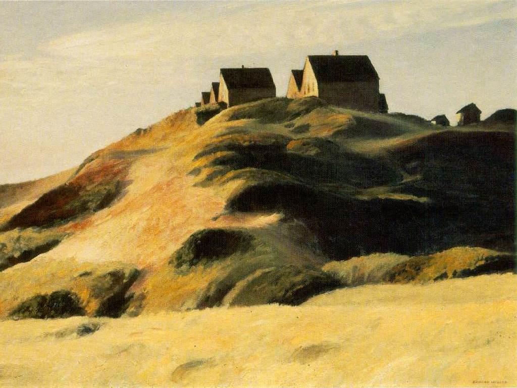 Artistic Wallpaper: Hopper - Corn Hill